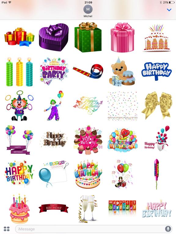 Happy Birthday Pack screenshot 5