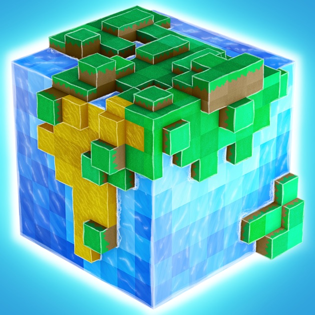 Worldcraft 3d build craft on the app store for Crafting and building app store