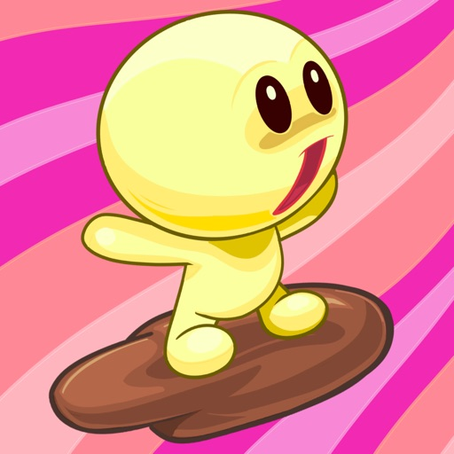 Candy Flying Man - Top classic sweet game for free iOS App