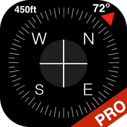 Compass Deluxe Pro - Heading for iPhone & iPad