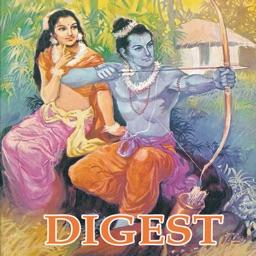 Rama Digest (5 Comics) - Amar Chitra Katha Comics