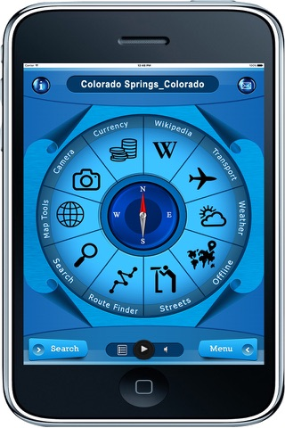 Colorado Springs Colorado - Offline Maps Navigator - náhled