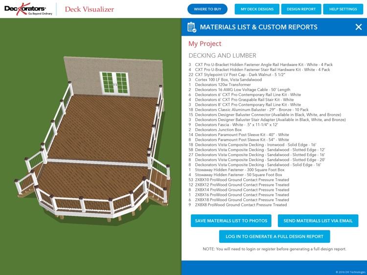 Deckorators Deck Visualizer screenshot-3