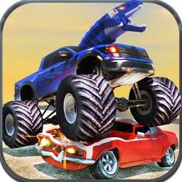 Furious Crash of Dino Cars