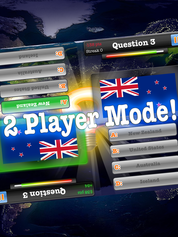 Geography Quiz Game 2017 – Multiplayer-ipad-1