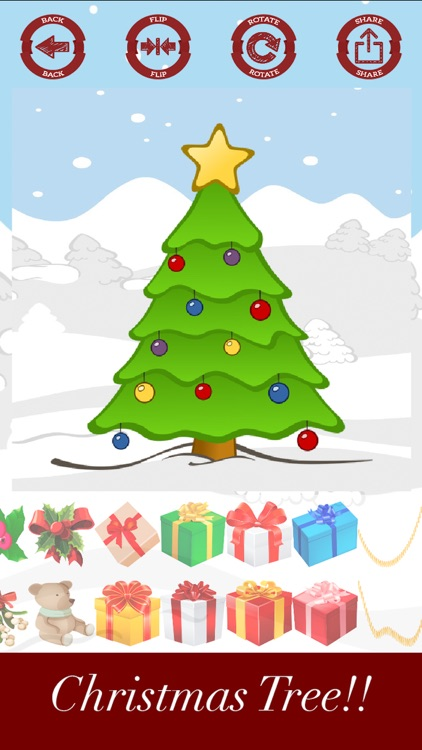 Decorate and create Christmas tree with stickers screenshot-4