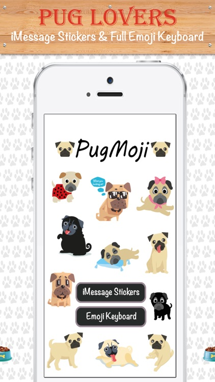 PugMoji - Pug Lovers Emojis and Stickers!