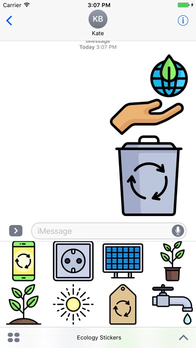 Ecology Stickers - Emoji For Environmentalists-0