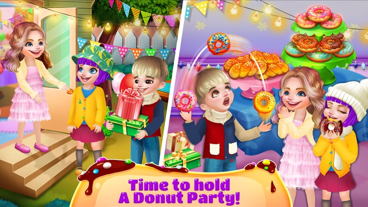 Donuts Maker - Free Food Maker Sweet Cooking Games screenshot-2
