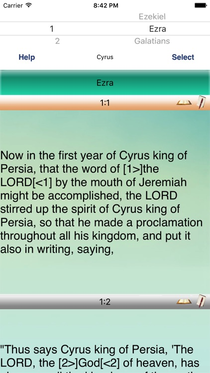 World English Hebrew Names Bible Study screenshot-4