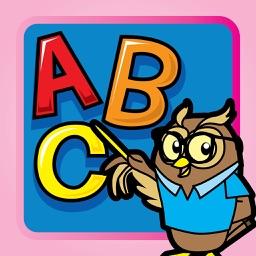 Tracing ABC Letters Handwriting Preschool Practice