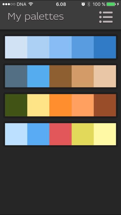 Pictoria - Color Palettes