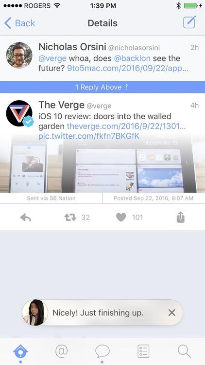 Leaf for Twitter screenshot-4