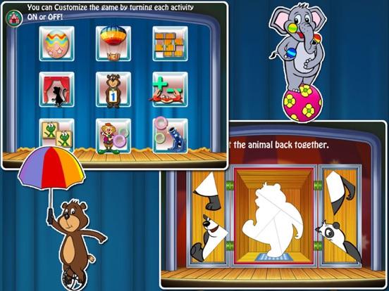 Animal Preschool! Circus- Educational app for kids на iPad