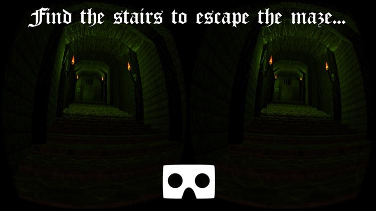 VR Dungeon Maze Escape for Google Cardboard screenshot-3