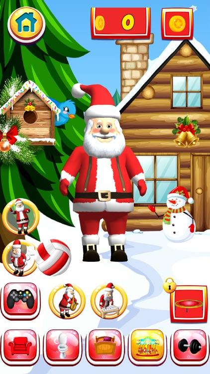 Talking Santa Christmas Game screenshot-3