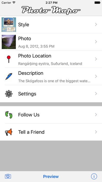 Photo Mapo - Add a map to your photo screenshot-1