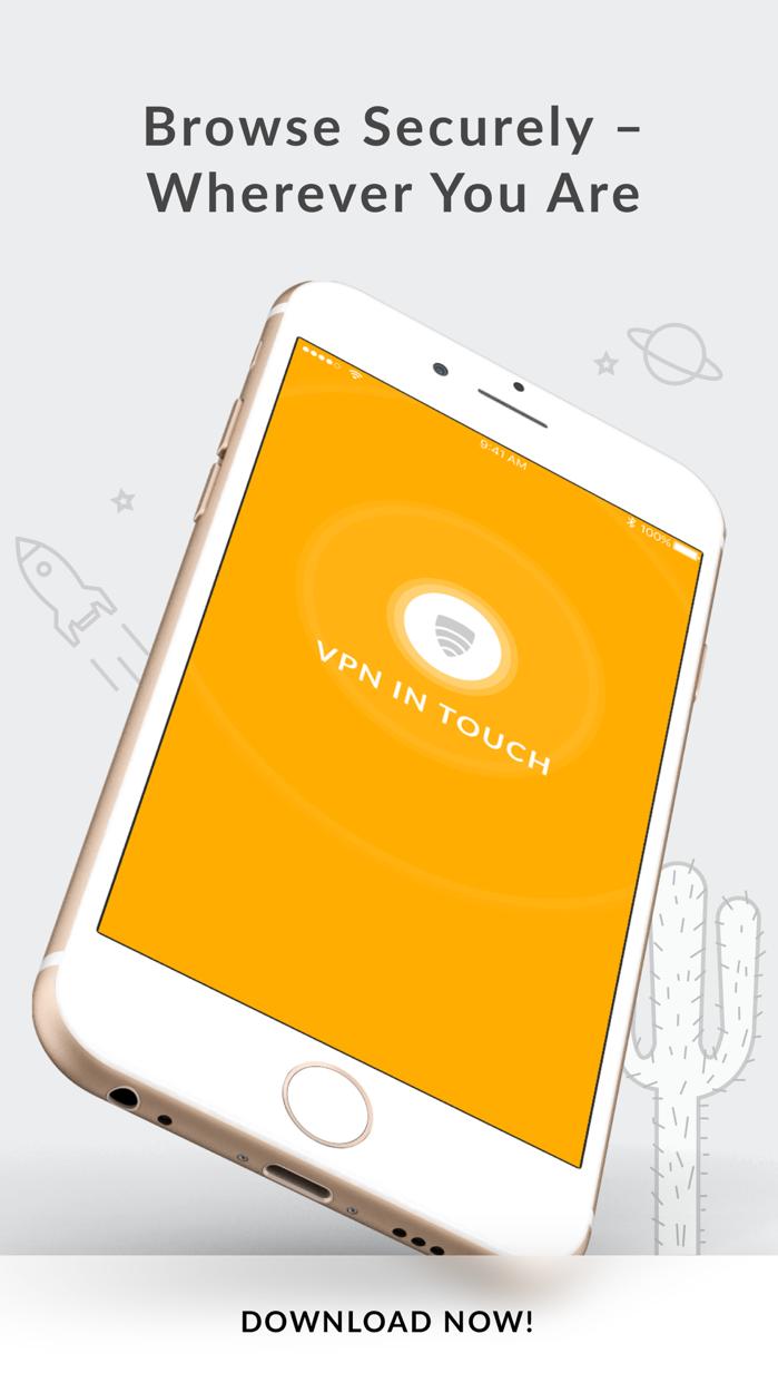 VPN in Touch Screenshot