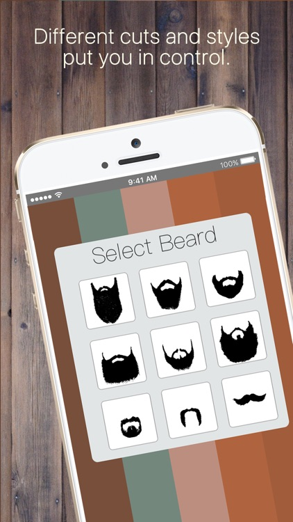 Beard Me Booth: Camera effects add beards to pics!