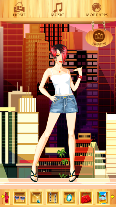 Summer Fashion Dress Up Games screenshot three