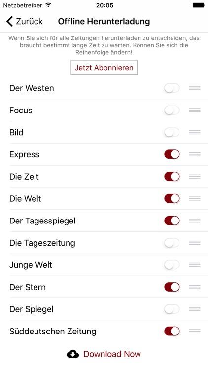Deutsche Zeitungen - Nachricht screenshot-4