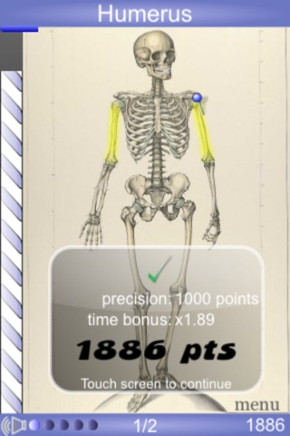 Speed Bones MD screenshot1