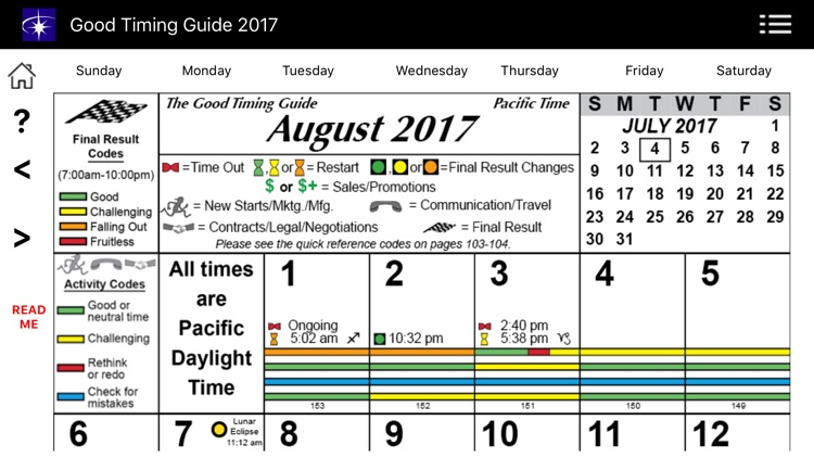 Good Timing Guide 2017 screenshot-2