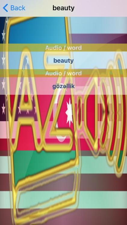 Azerbaijani Dictionary GoldEdition screenshot-4