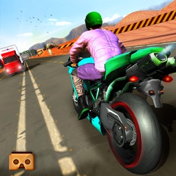 VR Highway Moto Bike Racer