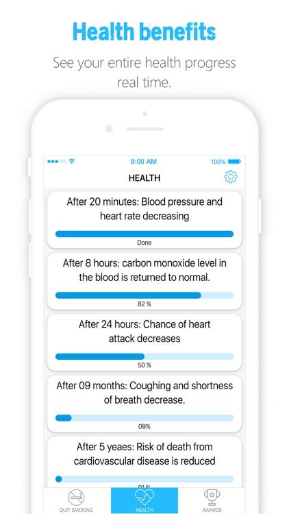 Quit Smoking - Smoke Free Now & Stop Smoking App screenshot-4