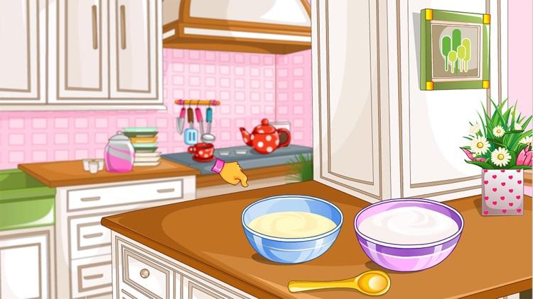 Rainbow Pancakes Cake free Cooking games for girls screenshot-4