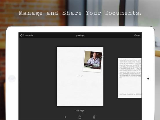 Hanx Writer iPad