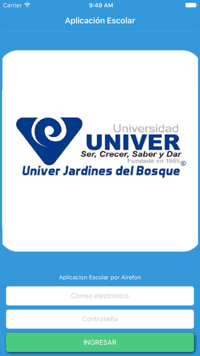 Univer Jardines del Bosque screenshot one