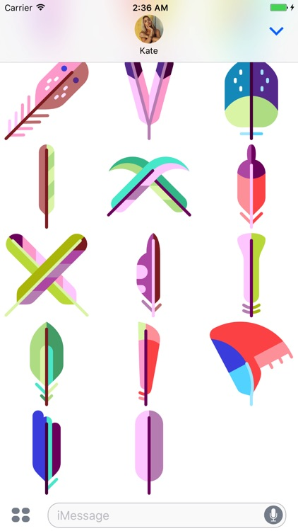 Feather Stickers screenshot-4