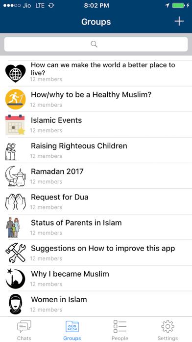 Discuss Islam ( Islamic Chat Rooms ) screenshot one