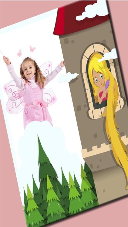 Fairy princess photo frames for kids – Pro screenshot-3