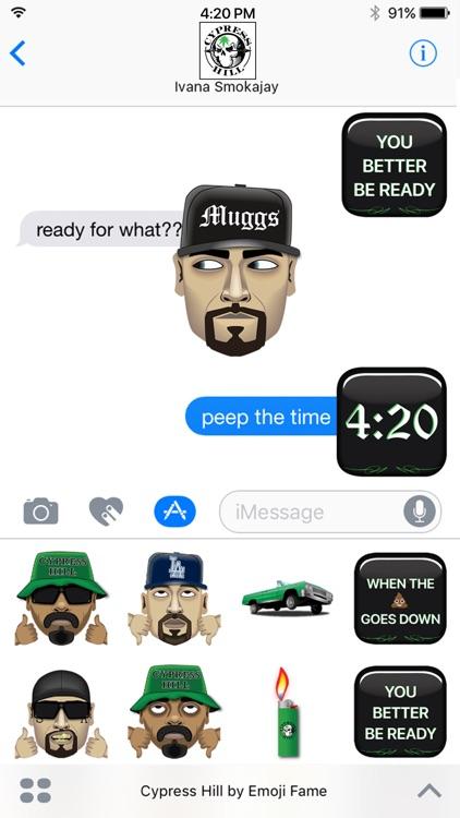 Cypress Hill by Emoji Fame