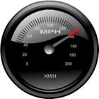 GPS speedo - Geschwindigkeitsanzeige mit HUD (Frontscheibenanzeige) icon