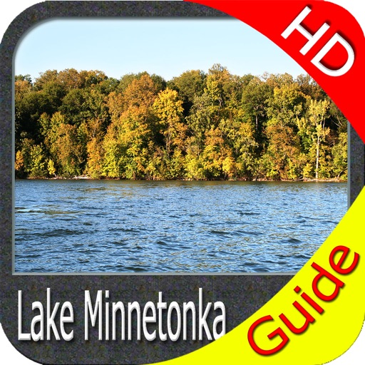 Lake Minnetonka HD GPS maps offline fishing charts