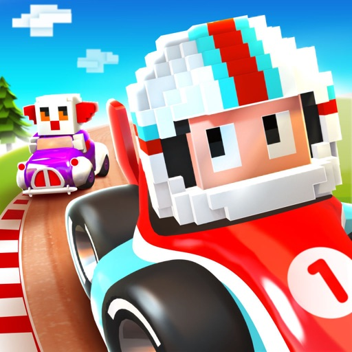 Blocky Racer - Endless Arcade Racing