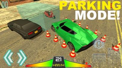 Sport Car Driving - 跑车驾驶停车场漂移模拟器 App 截图
