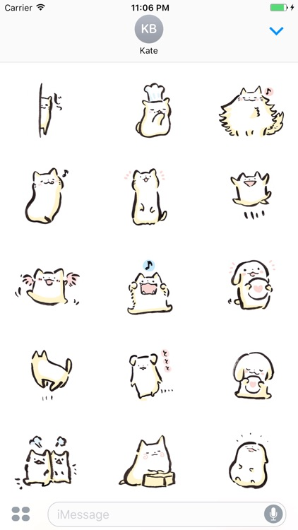 Animal Expressions Sticker