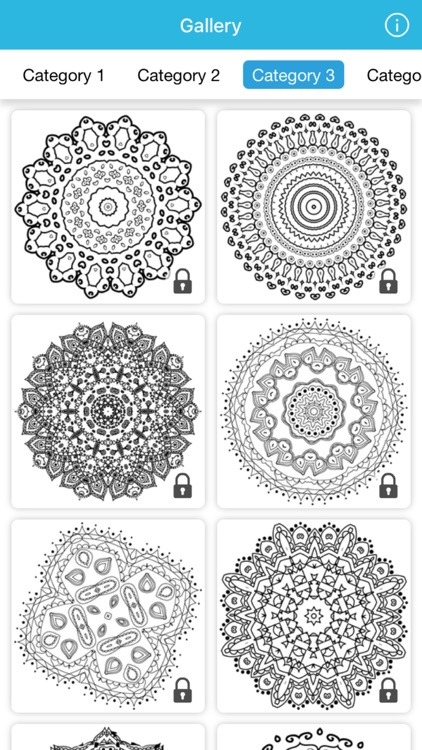 coloring book mandala art therapy nature for adult