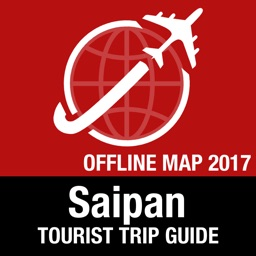 Saipan Tourist Guide + Offline Map