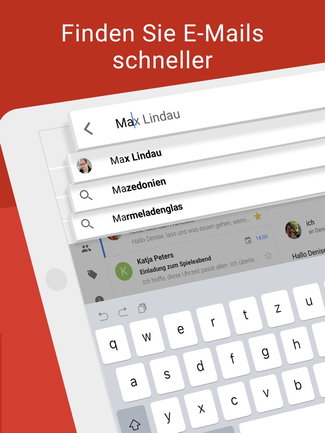Gmail – E-Mail von Google Screenshot