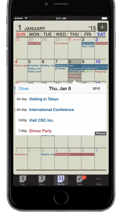 Refills - Calendar & Tasks screenshot-2