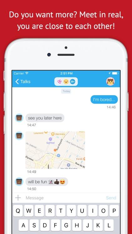 ABATAP - secret chats with other anonymous abatap screenshot-4