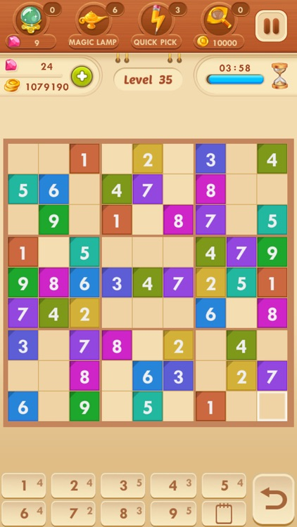 Sudoku Quest - Colored Number Game