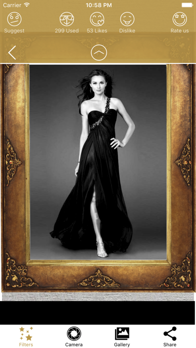 Golden Photo Frames & Luxury Picture Effects screenshot two