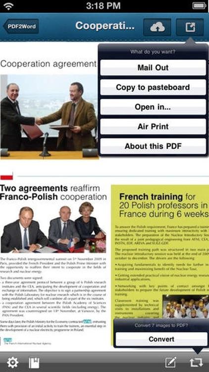 PDF To Word Pro - Convert PDF to Microsoft Word screenshot-4